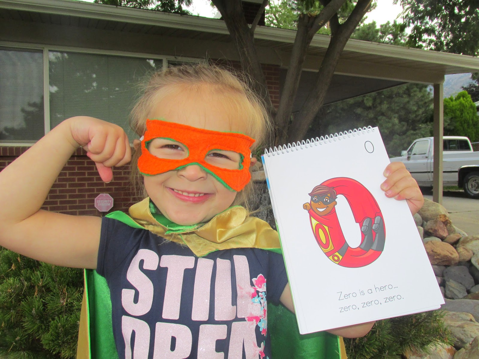 Child Superhero for Zero is a hero theme