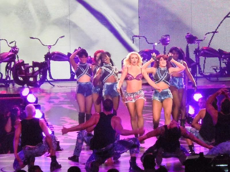Britney Spears biker chick Femme Fatale