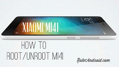 how to root Xiaomi Mi4i