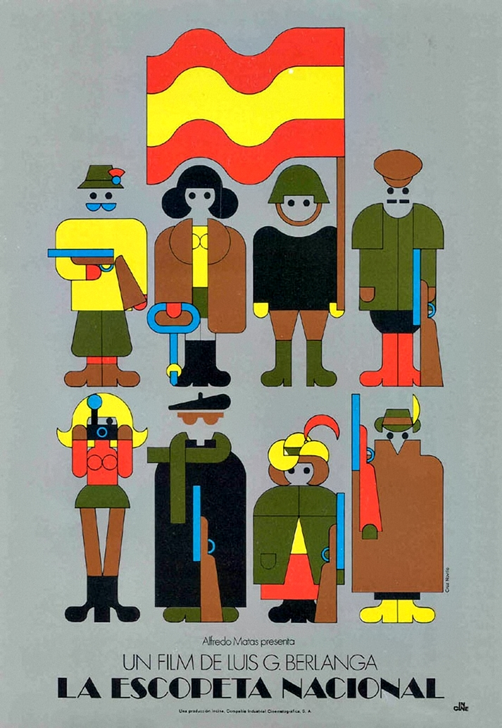 Cartel: La escopeta nacional (1978)