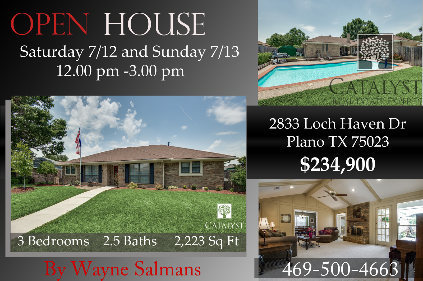 open house,2833 Loch Haven Dr, Plano, TX 75023, moving to plano, buy a house in Plano