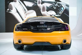 KIA GT-4 Stinger Rearview
