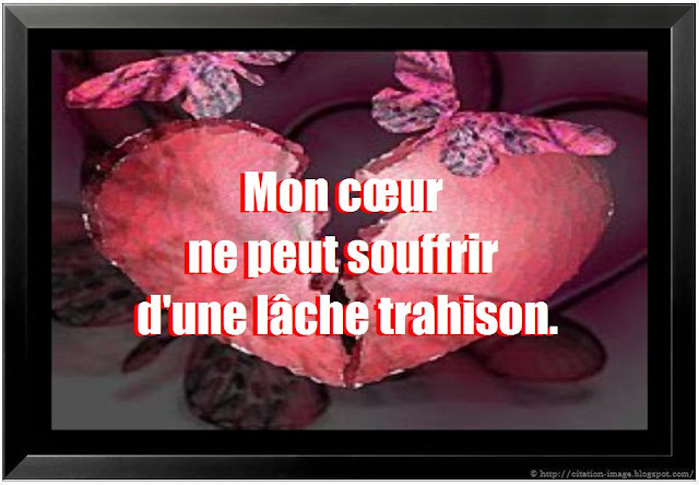 citation sur trahison