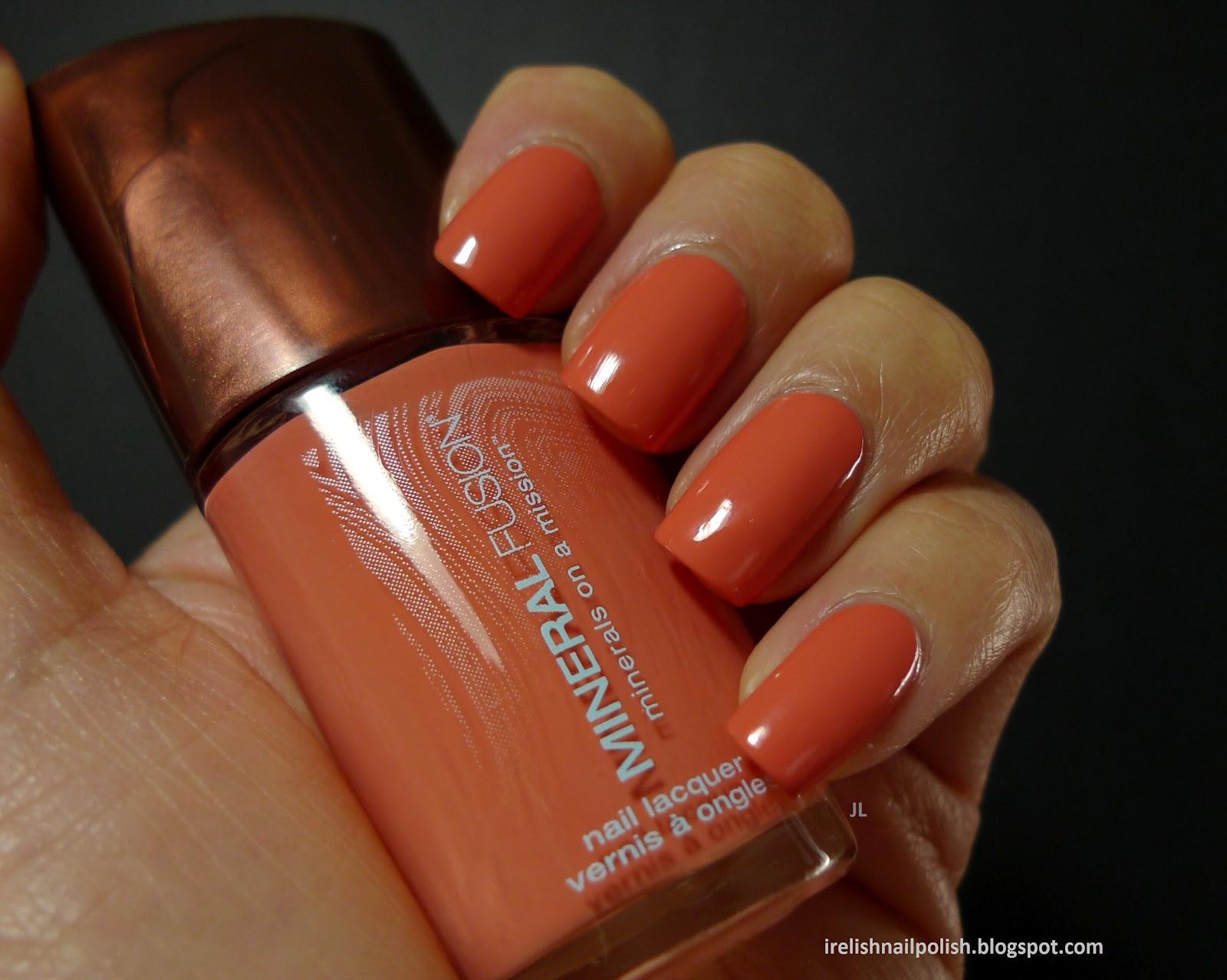 I Relish Nail Polish!: Mineral Fusion - Sunkissed