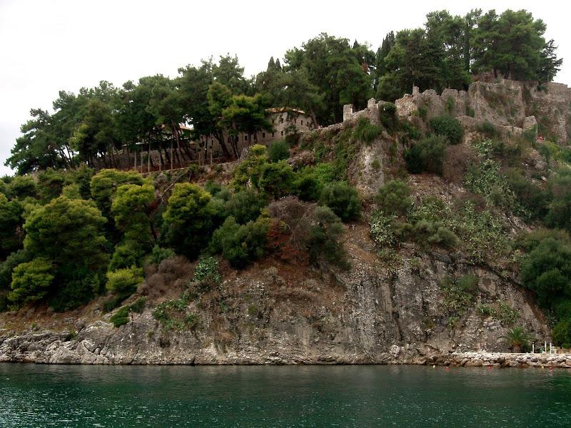 Venezianische Festung in Parga (Epirus, Griechenland)