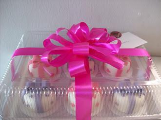 Mini bolos para presentear
