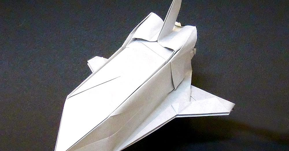 Projects Art And Craft Easy Origami Spaceship