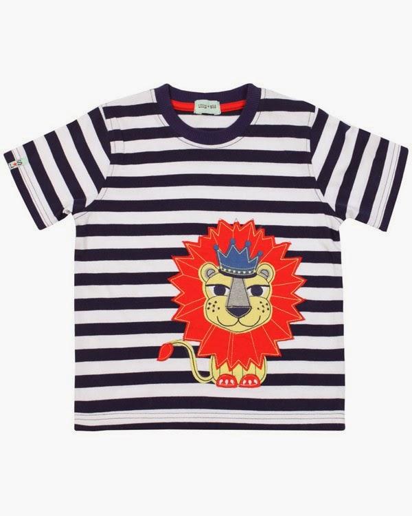 Lilly + Sid t-shirt Leeuwenkoning