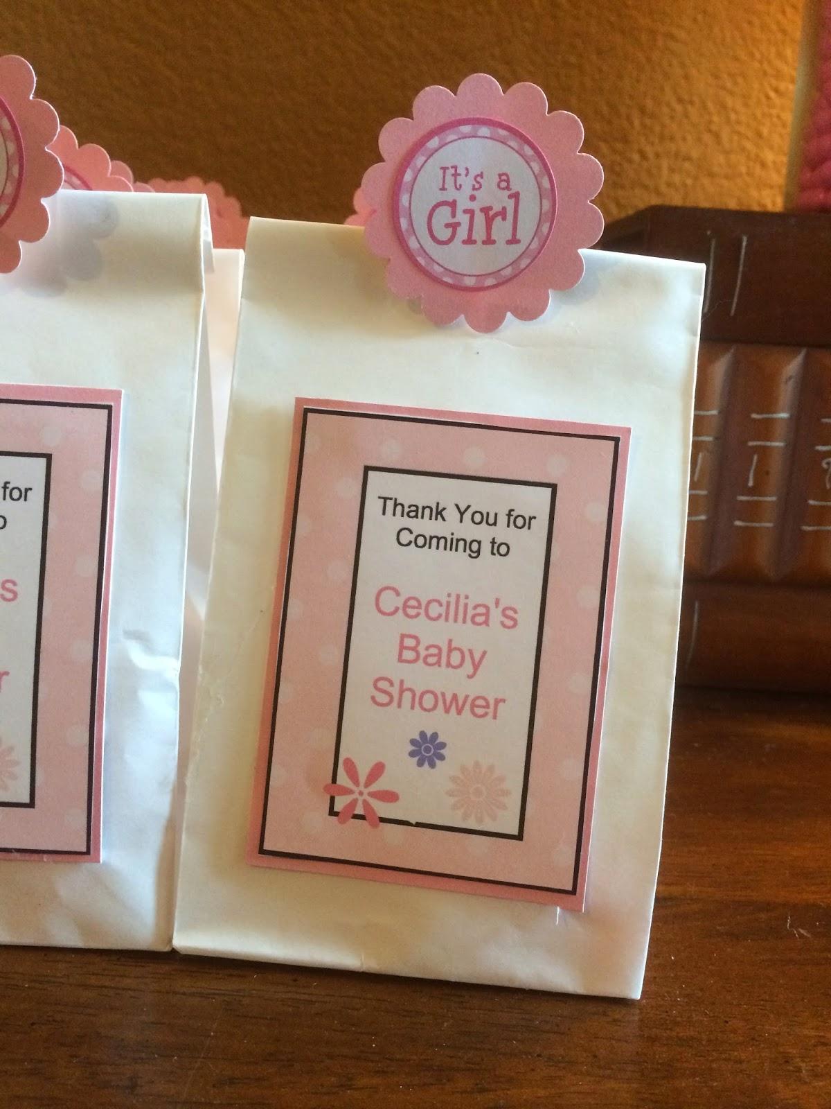 craft paper scissors baby shower gift bags