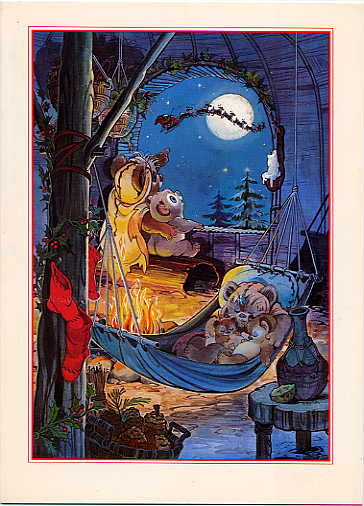 1984 Lucasfilm Christmas Card