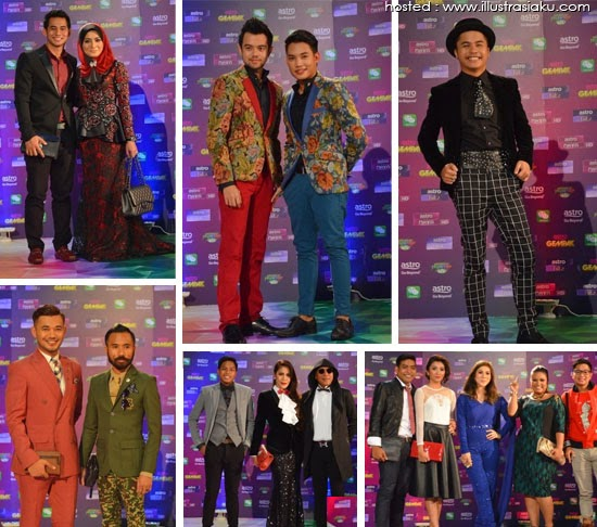 Anugerah Meletop Era 2014, custom