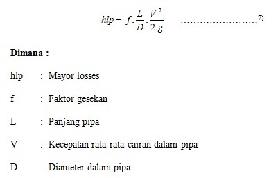 Maintenance water pump head pump price f friction factor obtained from the moody diagram annexure 6 as a function of reynolds number reynolds number and the relative roughness ccuart Gallery