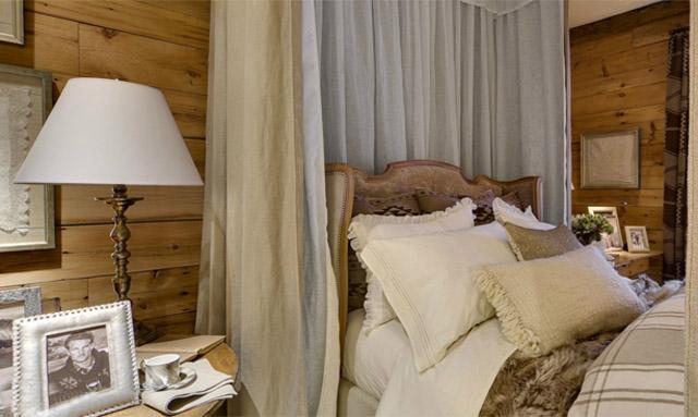 decoracion dormitorio rustico chic-cojines