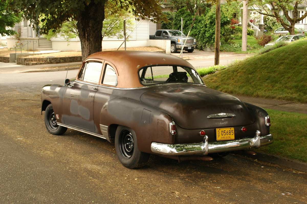 1951 Chevrolet Business Coupe.