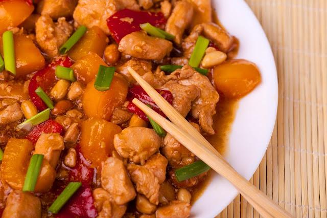 курица гунбао по китайски