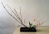 ikebana, çiçek süsleme sanatı