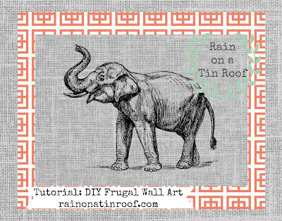 DIY Wall Art with PicMonkey {rainonatinroof.com} #wallart #PicMonkey #DIY #art #wall
