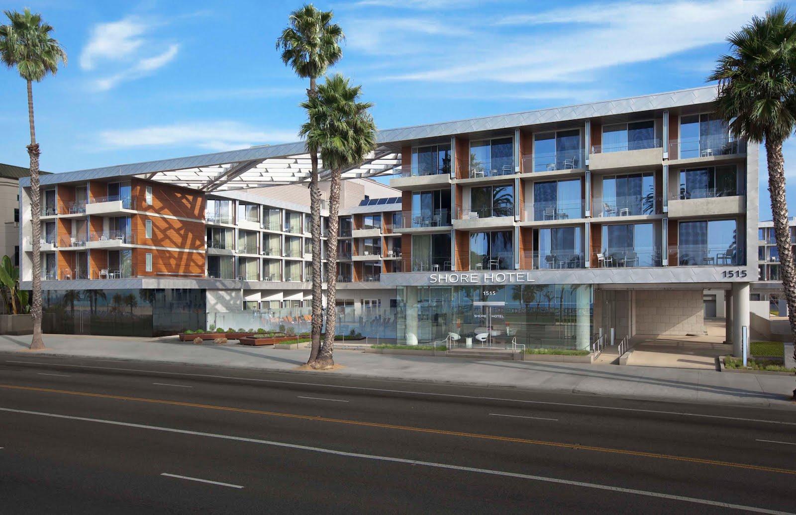 usgbc blog green hotel case study the shore hotel santa. Black Bedroom Furniture Sets. Home Design Ideas