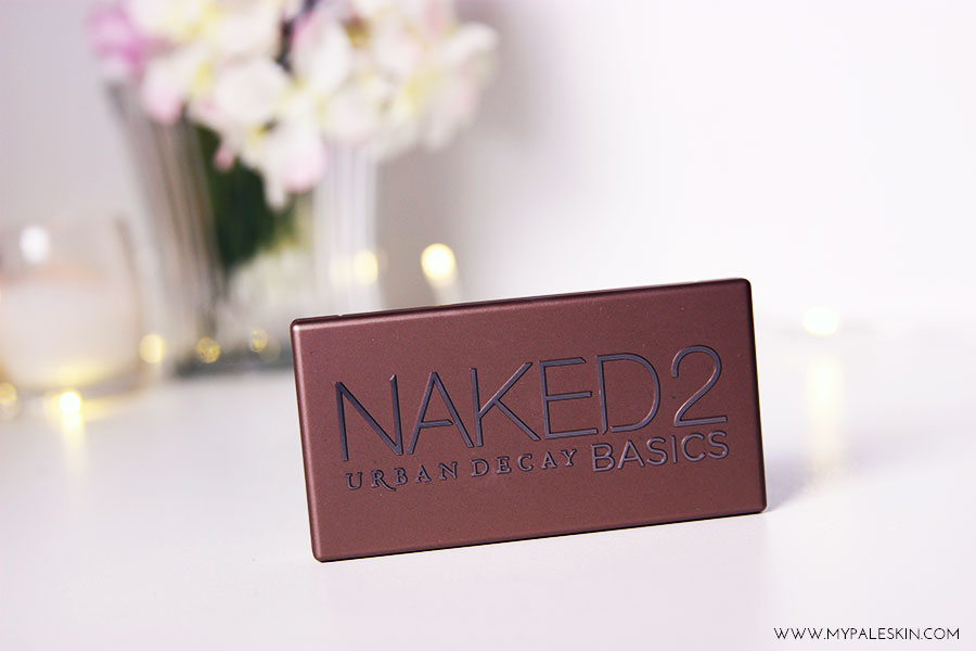 Naked 2 Basics, urban decay, naked basics 2, eyeshadow, blogger, review, swatch, pale skin, my pale skin, em ford