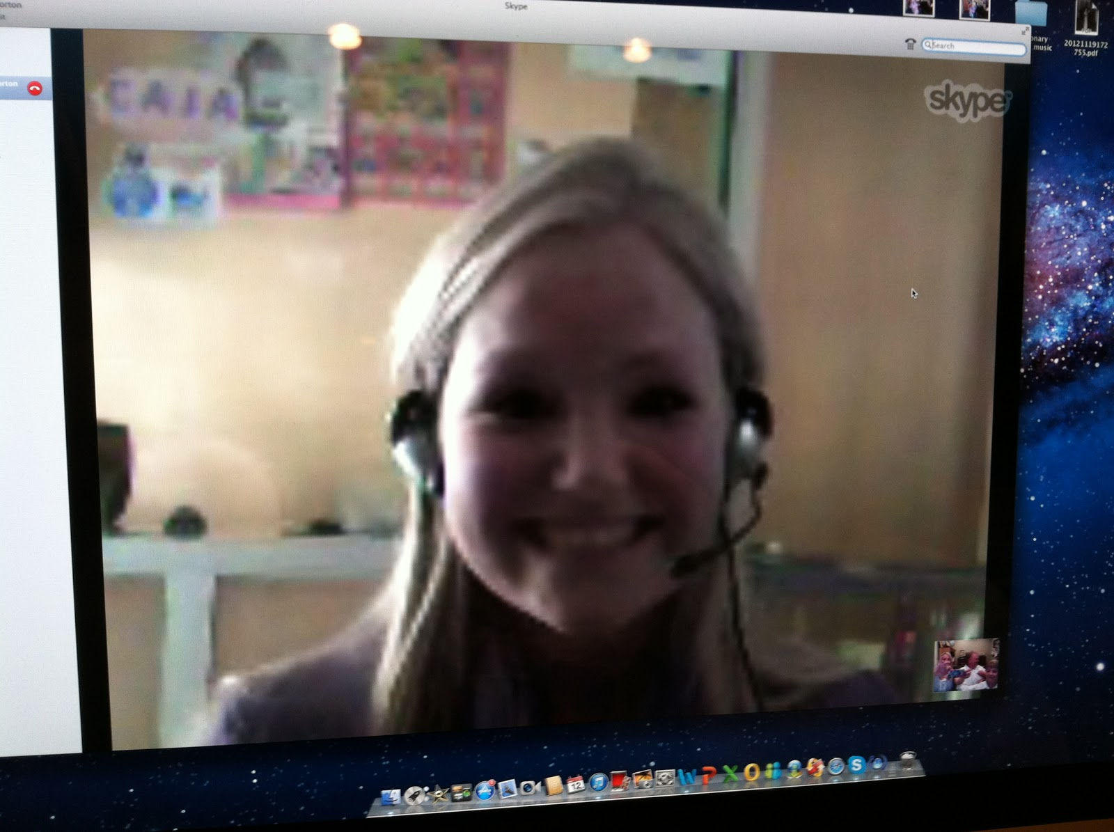 skype Call-girl kostym