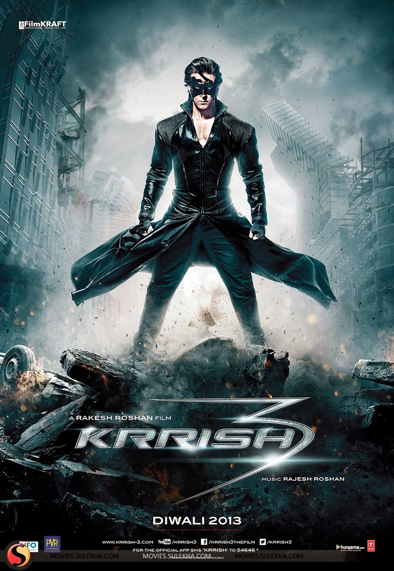 Baixar Filme   Krrish 3   DVDSCR AVI + RMVB Legendado (2013)