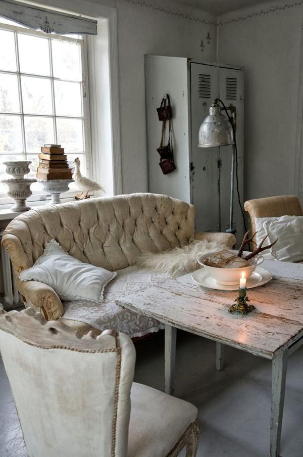 C mo decorar con estilo shabby chic vintage home style - Decorar estilo shabby chic ...