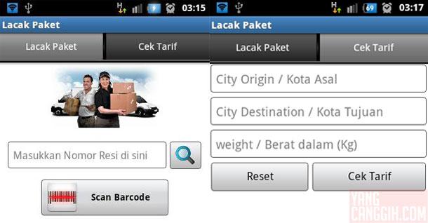 Download Aplikasi Lacak Paket Kiriman