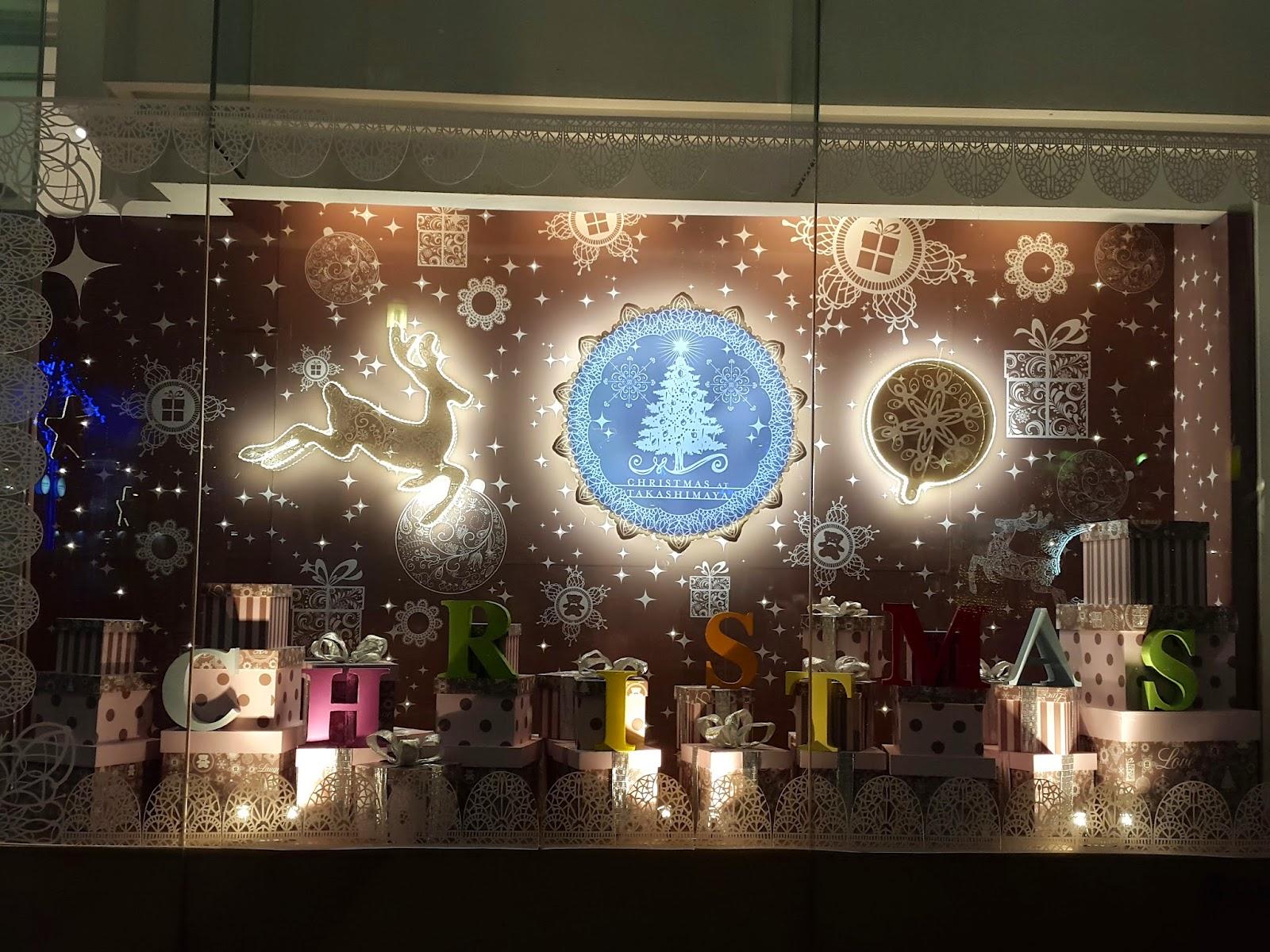 Christmas at Takashimaya Singapore