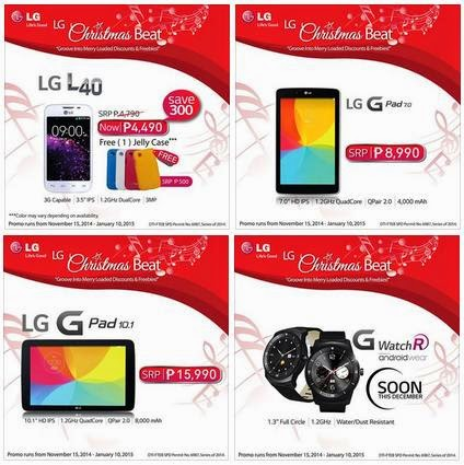 LG Philippines Christmas Beat Promo