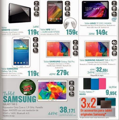Ofertas de Tablets ECI ENE 2015