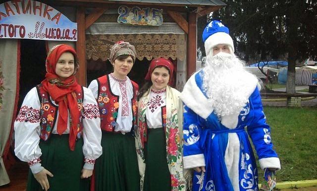 Св. Миколай у місті
