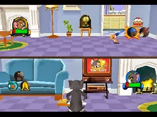 Game PS1 Tom And Jerry House In The Trap