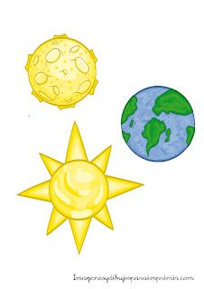 dibujos de planetas y tierra
