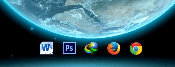 Cara Membuat Shortcut Hanya Menampilkan Icon Tanpa Nama