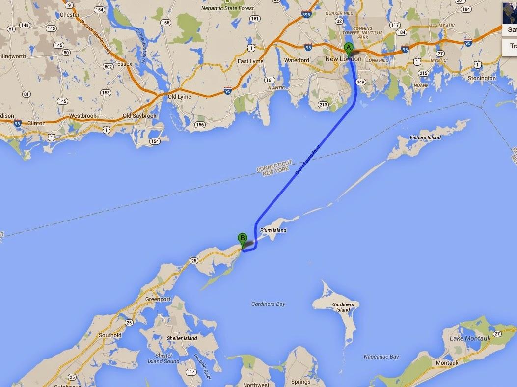 Long Island Ferry Orient Point New London