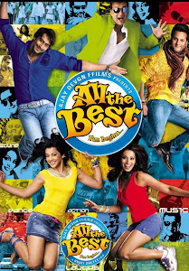Poster Of Bollywood Movie All the Best (2009) 300MB Compressed Small Size Pc Movie Free Download worldfree4u.com