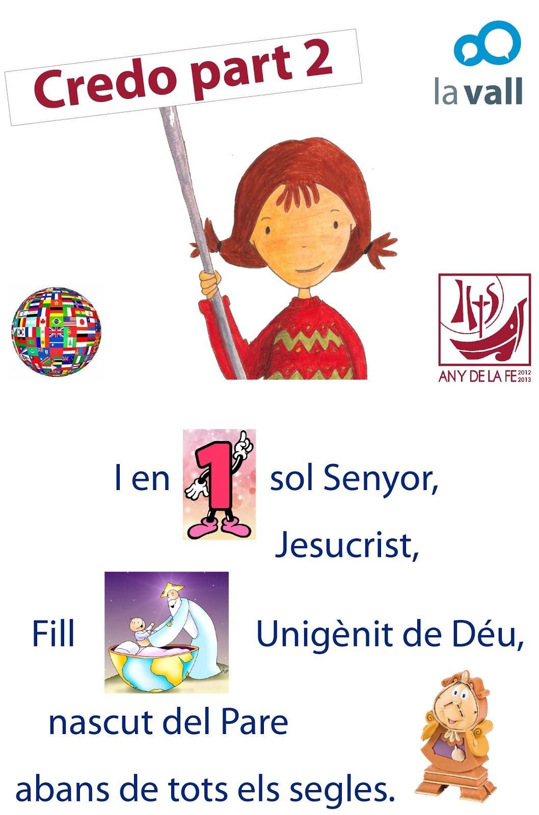 ANY DE LA FE Oracin del ao de la Fe noviembre Credo