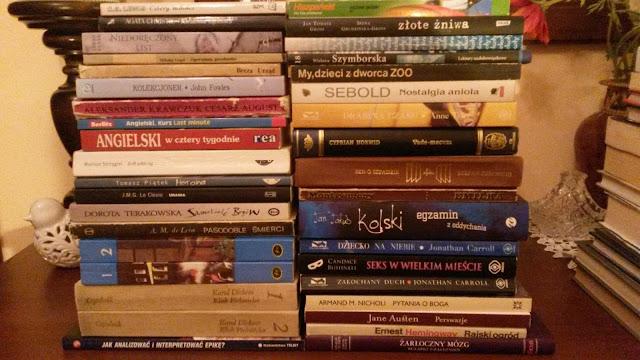(416) Listopadowy stosik książek po złotówce... ;)
