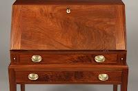 Walnut Desk Mahogany, TIger Maple, Cherry and Birdseye Maple, Curly Maple