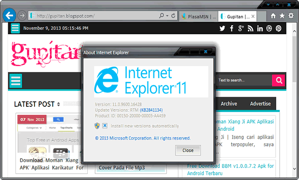 Download Internet Explorer 11 Ie11 Release Preview For ...