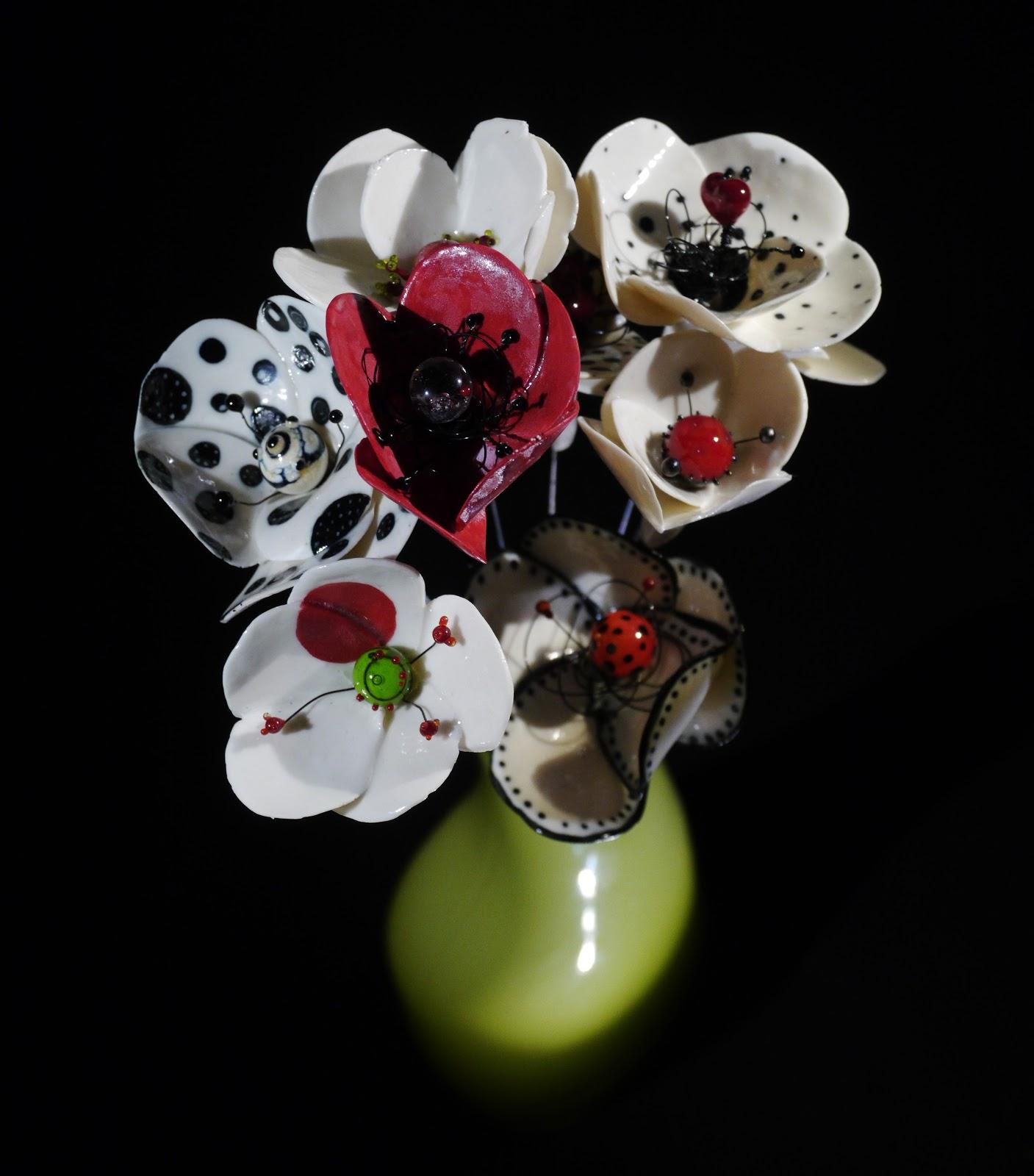 kat creation perles bijoux en verre ceramique fleurs porcelaine verre. Black Bedroom Furniture Sets. Home Design Ideas
