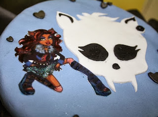 Tortas Monster High, Clawdeen Wolf, parte 1
