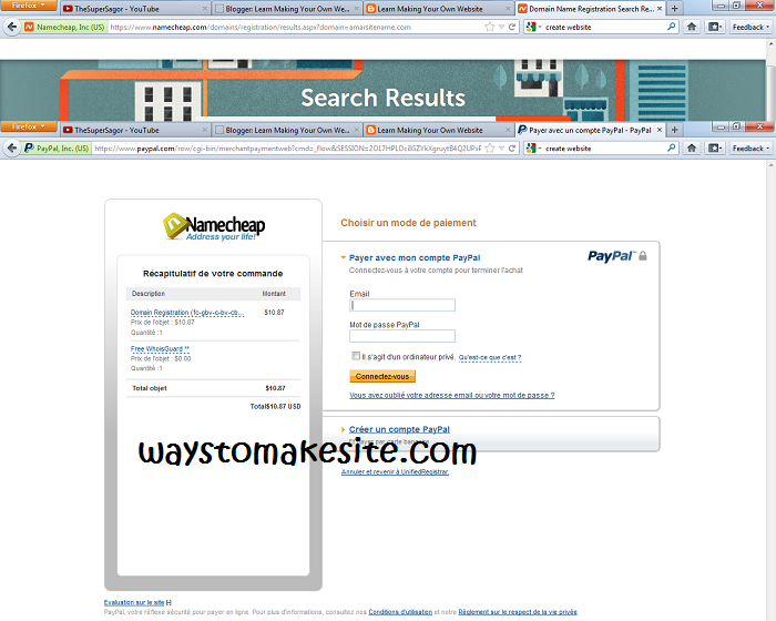 How to buy domain name from Namecheap
