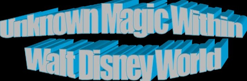 Unknown Magic Within Walt Disney World