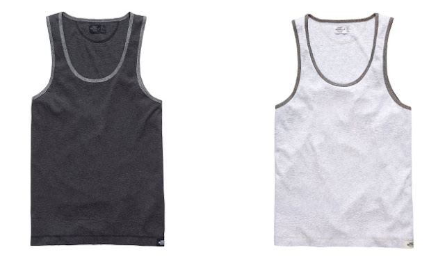 camisetas con ribetes gris