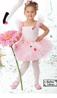 Fantasia Infantil de Bailarina