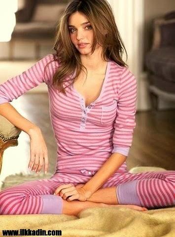 Yeni Moda Bayan Pijama Modelleri