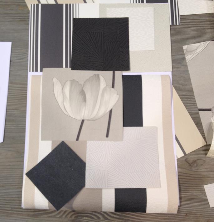 Papier vinyle lourd effet planche écru CASTORAMA
