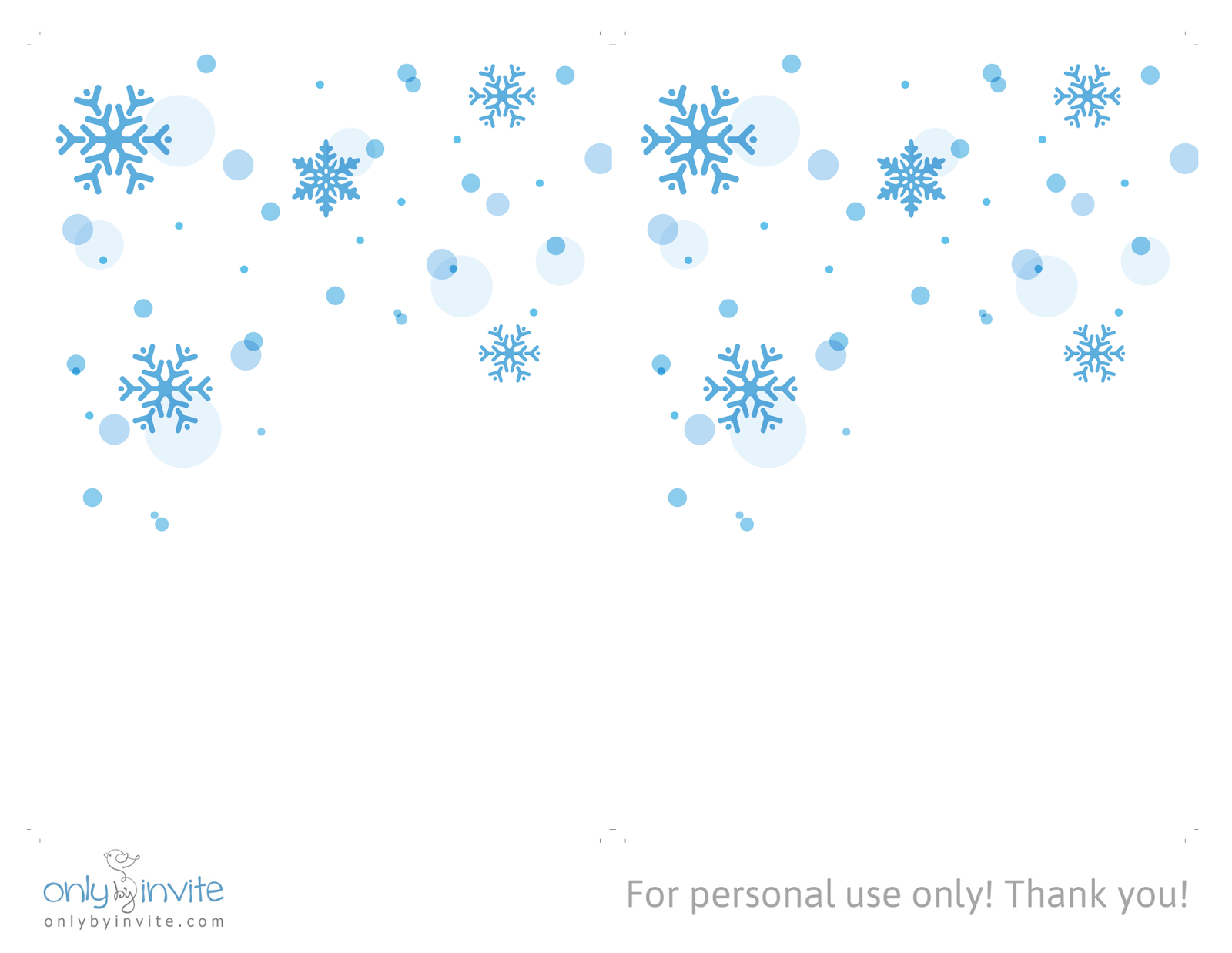 printables for happy occasions wedding invitation templates snowflakes winter wedding invitation template