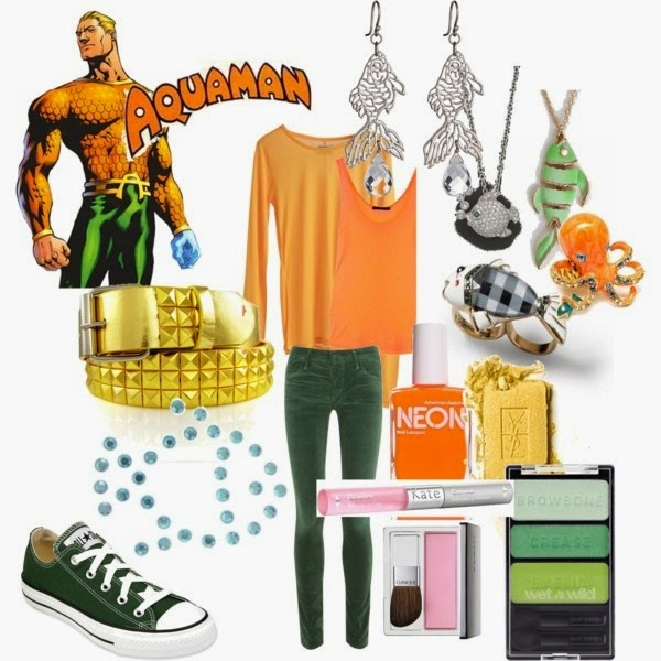 Aquaman Casual Cosplay